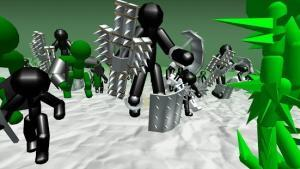 Stickman Simulator Zombie Battle